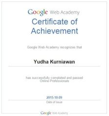 GoogleWebAcademyProf